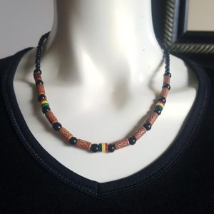 🎁🎁African Inspired Handmade Necklace